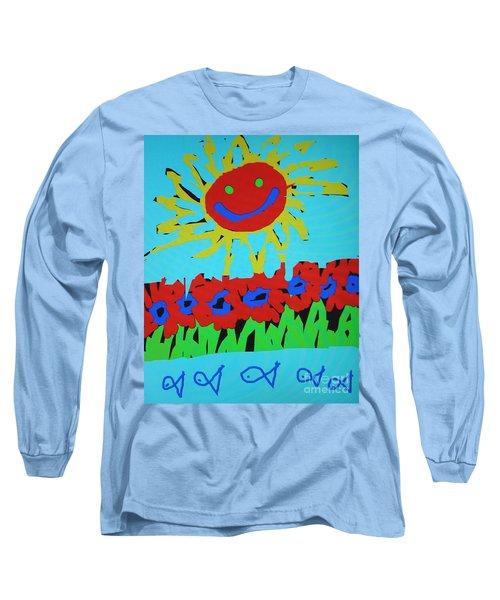 Brians Art Long Sleeve T-Shirt
