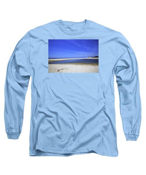 Bridgehampton Sky Long Sleeve T-Shirt by Madeline Ellis