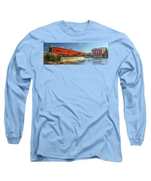Bridgeton Bridge And Mill Long Sleeve T-Shirt