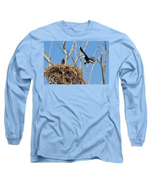 Bringing Up Baby Long Sleeve T-Shirt
