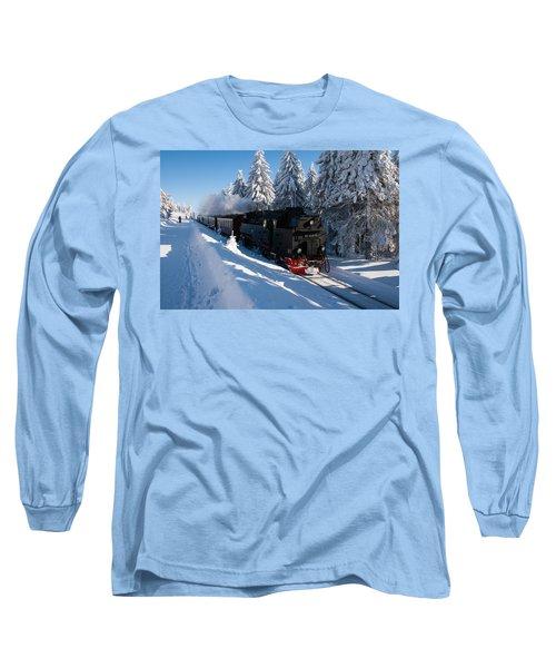 Brockenbahn Long Sleeve T-Shirt by Andreas Levi