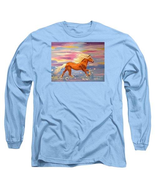 Bubble Run Long Sleeve T-Shirt