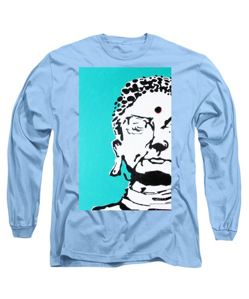 Long Sleeve T-Shirt featuring the painting Buddha by Nicole Gaitan