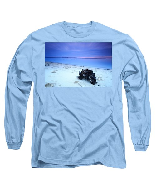 Burnt Driftwood Sunset Long Sleeve T-Shirt