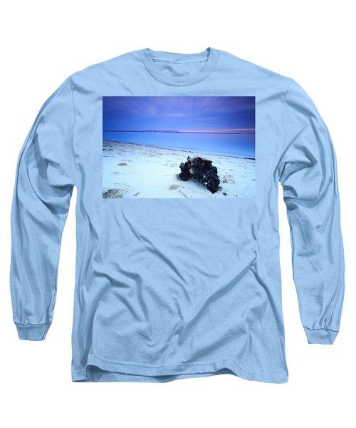 Burnt Driftwood Sunset Long Sleeve T-Shirt