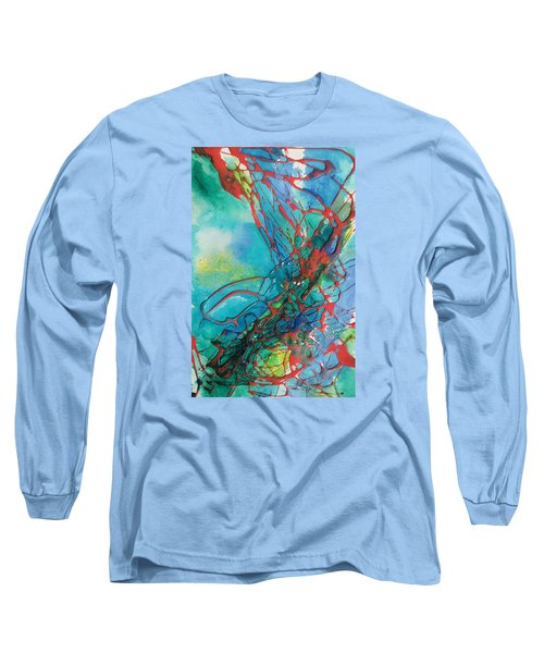 Busting Out Long Sleeve T-Shirt by Becky Chappell