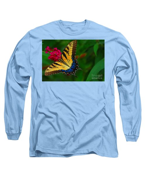 Long Sleeve T-Shirt featuring the photograph Butterfly by Geraldine DeBoer