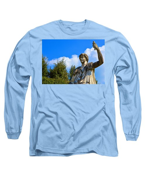 Caesar On Blue Sky Long Sleeve T-Shirt