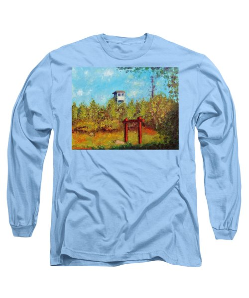 Camel Top Fire Tower Long Sleeve T-Shirt by Jason Williamson