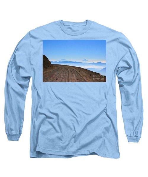 Camino En Volcan Nevado De Toluca Long Sleeve T-Shirt