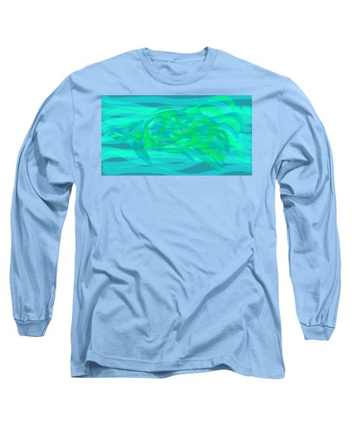 Long Sleeve T-Shirt featuring the digital art Camouflage Fish by Stephanie Grant