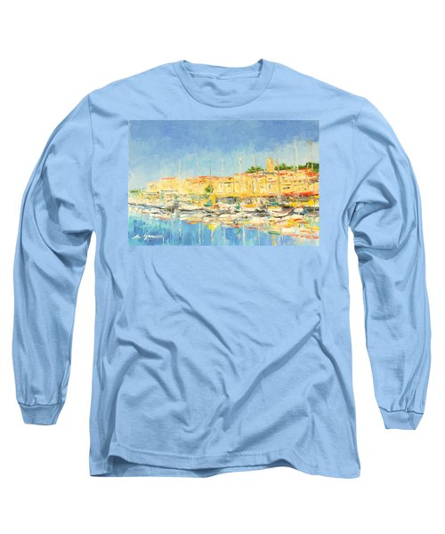 Cannes Harbour Long Sleeve T-Shirt