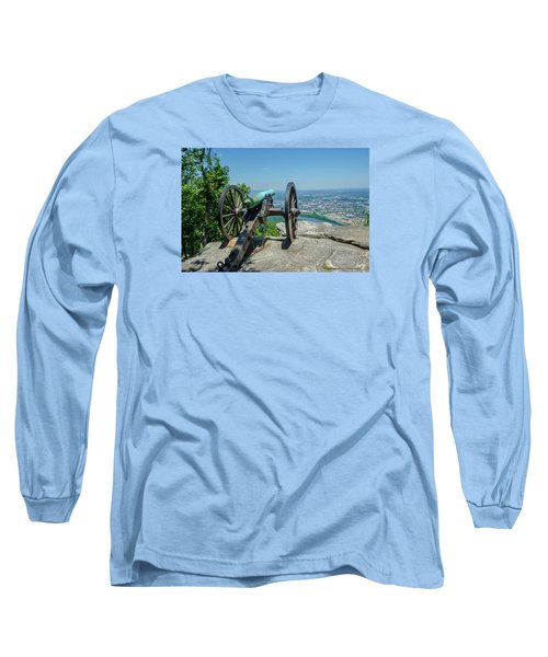 Long Sleeve T-Shirt featuring the photograph Cannon At Point Park by Susan  McMenamin