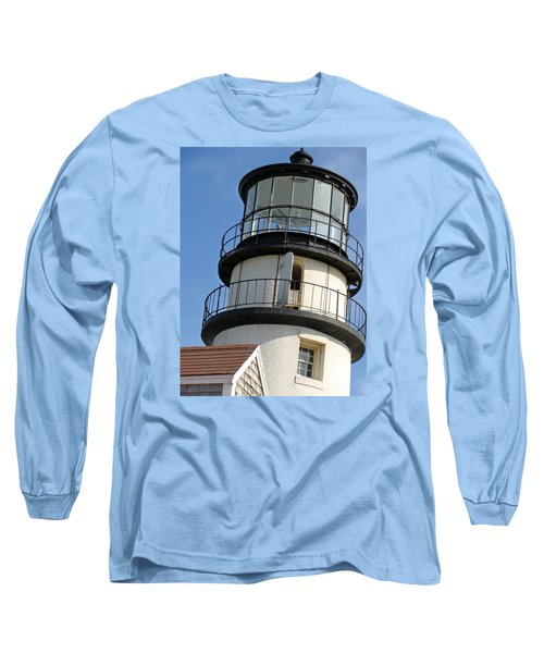 Long Sleeve T-Shirt featuring the photograph Cape Cod Lighthouse by Ira Shander