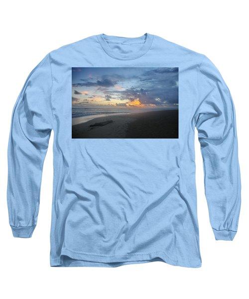 Caribbean Sunrise Long Sleeve T-Shirt