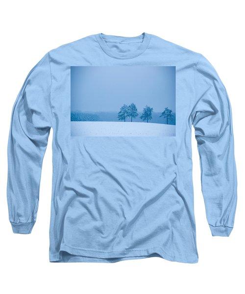 Carolina Snow Long Sleeve T-Shirt