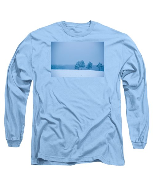 Carolina Snow Long Sleeve T-Shirt