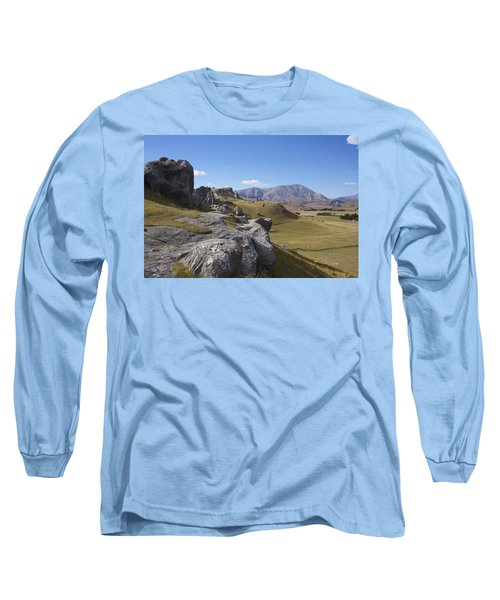 Castle Hill #6 Long Sleeve T-Shirt by Stuart Litoff