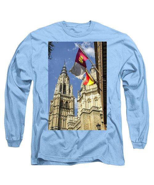 Catedral De Santa Maria De Toledo Long Sleeve T-Shirt