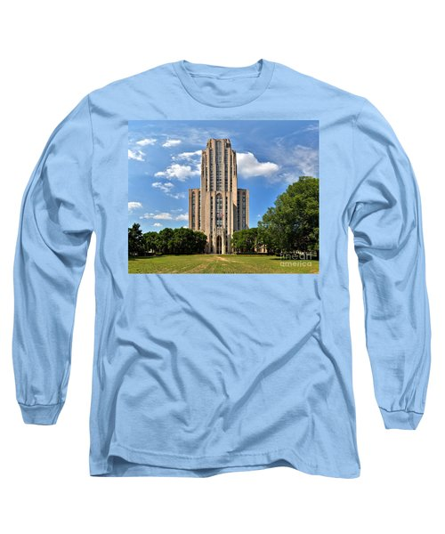 Cathedral Of Learning Pittsburgh Pa Long Sleeve T-Shirt