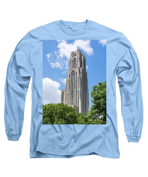 Cathedral Of Learning - Pittsburgh Pa Long Sleeve T-Shirt