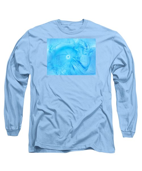 Celestial Intelligencer Long Sleeve T-Shirt by Jeff Iverson