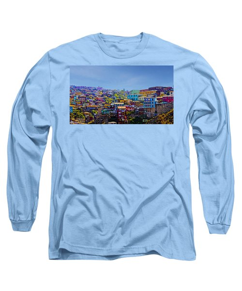 Cerro Artilleria Valparaiso Chile Long Sleeve T-Shirt