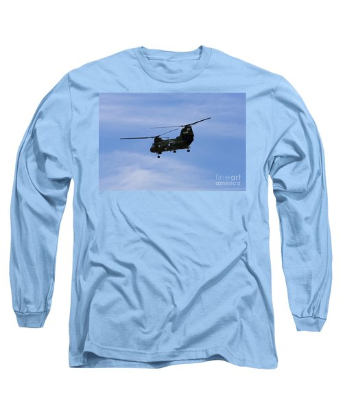 Ch-46 Vietnam Era Paint Long Sleeve T-Shirt