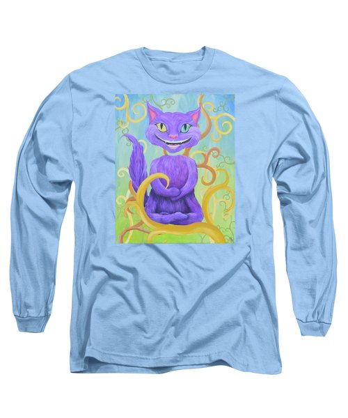 Cheshire Grin Long Sleeve T-Shirt