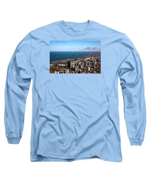 Chicago From Above Long Sleeve T-Shirt