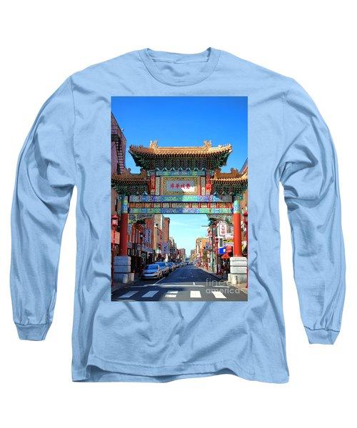 Chinatown Friendship Gate Long Sleeve T-Shirt