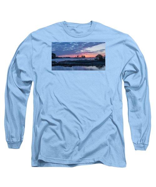 Chincoteague Wildlife Refuge Dawn Long Sleeve T-Shirt