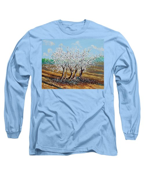 Long Sleeve T-Shirt featuring the painting Chosen by Meaghan Troup