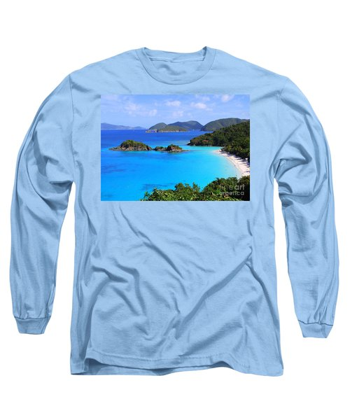 Cinnamon Bay St. John Virgin Islands Long Sleeve T-Shirt
