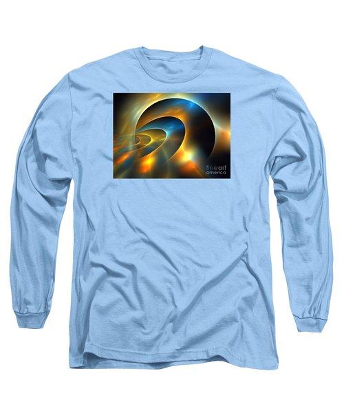 Circumbinary Long Sleeve T-Shirt by Kim Sy Ok