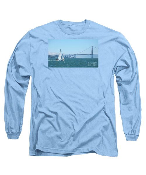 Classic San Francisco Bay Long Sleeve T-Shirt by Connie Fox