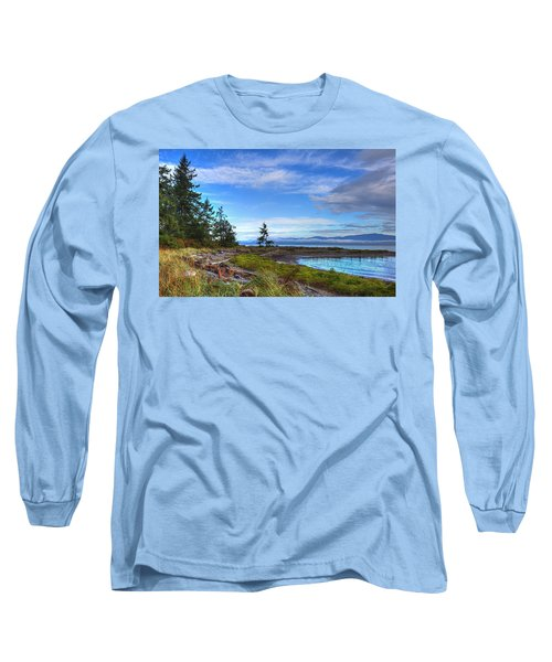 Clearing Skies Long Sleeve T-Shirt by Randy Hall
