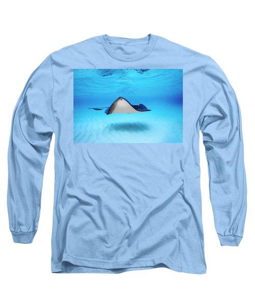 Close-up Of A Southern Stingray Long Sleeve T-Shirt
