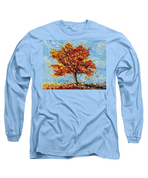 Long Sleeve T-Shirt featuring the painting Clothed With Joy by Meaghan Troup