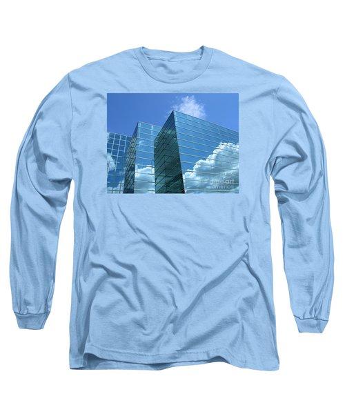 Long Sleeve T-Shirt featuring the photograph Cloud Mirror by Ann Horn
