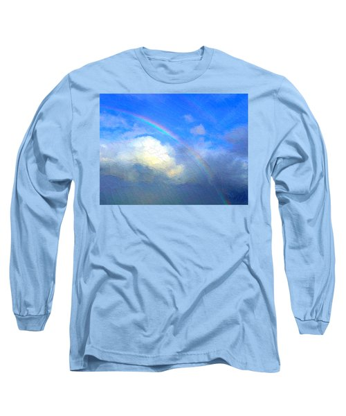 Clouds In Ireland Long Sleeve T-Shirt