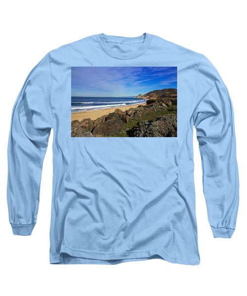 Long Sleeve T-Shirt featuring the photograph Coastal Beauty by Dave Files