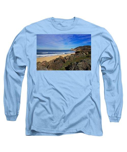 Coastal Beauty Long Sleeve T-Shirt by Dave Files