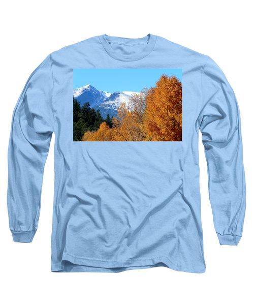 Colorado Mountains In Autumn Long Sleeve T-Shirt