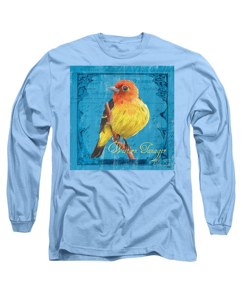 Colorful Songbirds 4 Long Sleeve T-Shirt