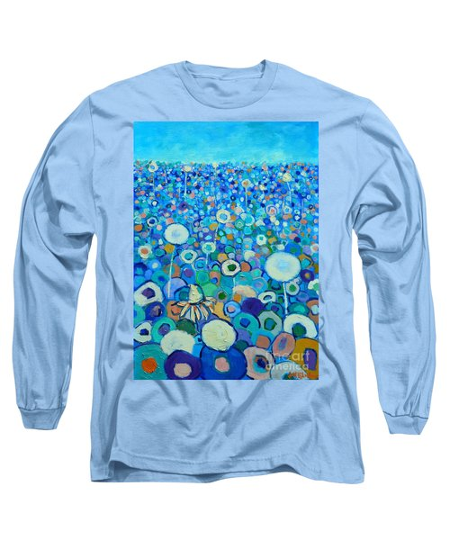 Colors Field In My Dream Long Sleeve T-Shirt