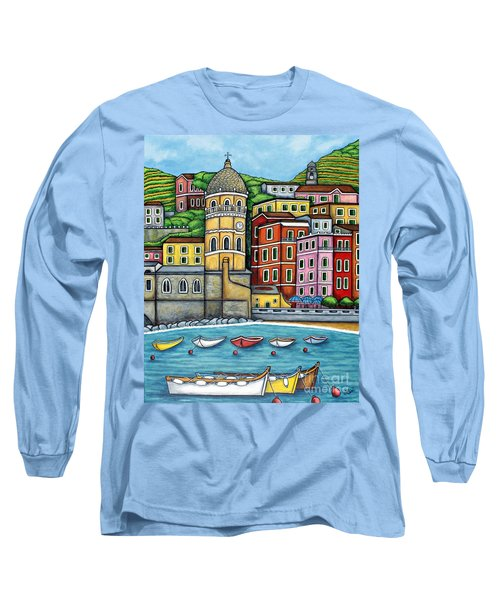 Colours Of Vernazza Long Sleeve T-Shirt