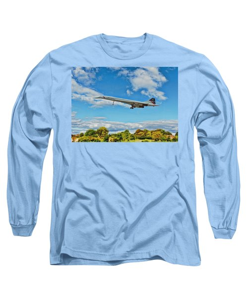 Concorde On Finals Long Sleeve T-Shirt