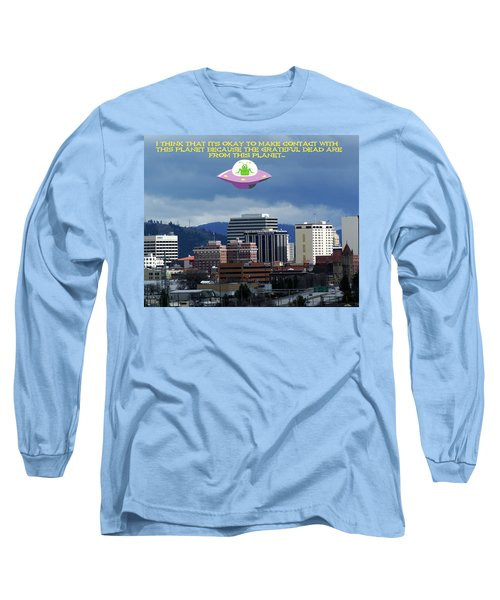 Contact With A Dead Planet 2 Long Sleeve T-Shirt