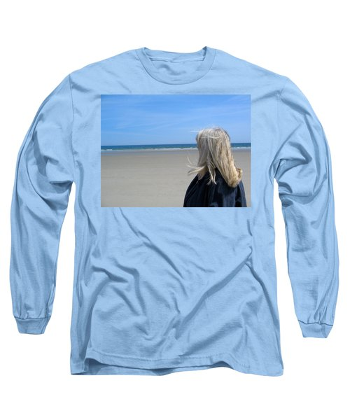 Contemplating The Stillness Long Sleeve T-Shirt